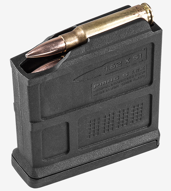 Магазин Magpul® PMAG® 5 7.62 AC™ – AICS Short Action 7.62x51mm NATO на 5 патронов MAG549 (Black)